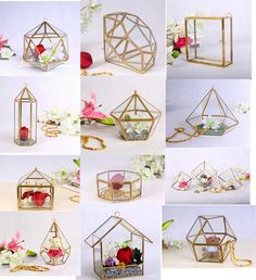 geometric wedding centerpieces - Google Search