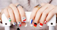#prom world-cup-2014-nail-art