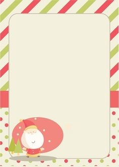 Cute find! Printable Letter toSanta -