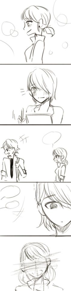 miraculous ladybug | Tumblr-->Once again, I do not ship this, but you can't help feeling sorry for this poor boy!