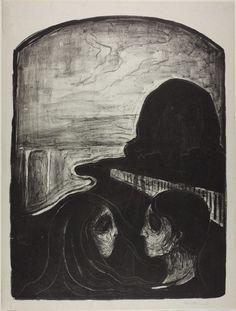 Edvard Munch, Attraction I, 1896