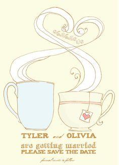 I adore this. Coffee and tea love!