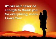Words will never be enough to thank for everything, mom. I love you ♡♡♡♡