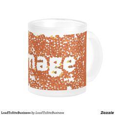 Your Custom 10 oz Frosted Glass Mug http://www.zazzle.com/loadtositebusiness_mug-168246267721291508