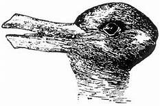 """Take a look at this amazing New """"Rabbit Or a Duck"""" Illusion illusion. Browse and enjoy our huge collection of optical illusions and mind-bending images and videos. Illusions Mind, Amazing Optical Illusions, Optical Illusions Pictures, Illusion Pictures, Art Optical, Duck Or Rabbit, Bunny Drawing, Brain Teaser Puzzles, School Images"""