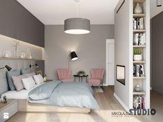przytulna sypialnia - zdjęcie od MIKOŁAJSKAstudio