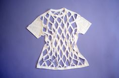DIY this criss-cross tee in no time! Photo by Lia Schryver