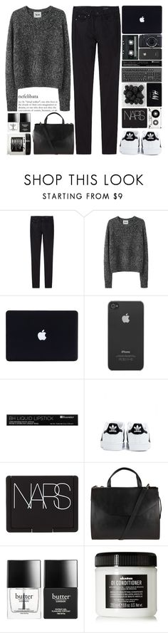 """""""No one ever looked so good in a dress And it hurts cause I know you won't be mine tonight"""" by onedirectiondress ❤ liked on Polyvore featuring THEM ATELIER, Acne Studios, Incase, Fujifilm, CASSETTE, H&M, adidas, NARS Cosmetics, John Lewis and Butter London"""
