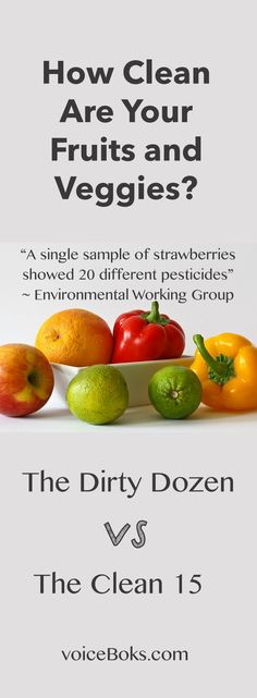 The fruits and veggies with the most and least amount of pesticides