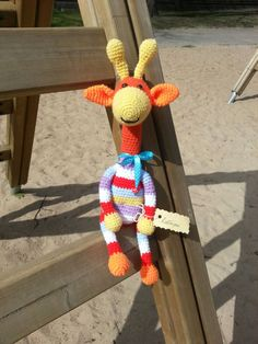 Rainbow giraffe toy  Crochet giraffe  Rainbow by KidUniqueCrochet
