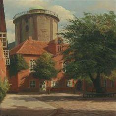 Frederik Wilhelm Svendsen (1885-1975): Regengaarden.