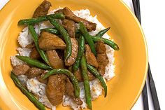 30 Asian recipes to try at home - Pork and green bean stir fry - CSMonitor.com