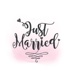 Just Married SVG clipart wedding annuncment Just married My Design, Custom Design, Coaster Art, Just Married, Design Bundles, Artwork Prints, Wedding Signs, Vector Art, Clip Art