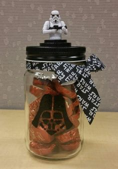 Star Wars mason candy jar