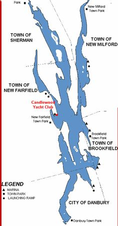 Candlewood Lake, Candlewood Lake, 8.4 sq mi, is located in Fairfield and Litchfield counties of western Connecticut, in the northeastern United States. It is the largest lake in Connecticut with a mean depth of 40 feet.