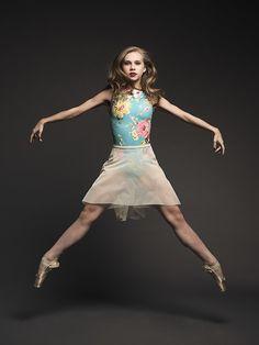 High- Low Skirt in Light Ivory Mesh RTW