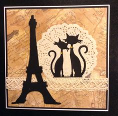 Marianne design Fancy Cats by Gilly Haigh