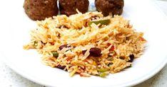 Ρύζι, Ρύζι με σάλτσα και λαχανικά, συνοδευτικά, Fried Rice, Fries, Ethnic Recipes, Food, Meals, Nasi Goreng, Yemek, Stir Fry Rice, Baked Rice