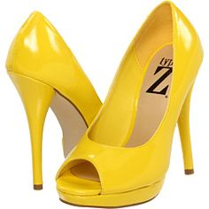 Yellow high heels Yellow and High heels on Pinterest