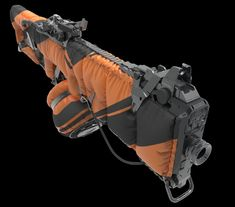 ArtStation - Nitrogen gun 3d model, Quad Skill