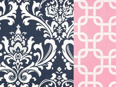 Hey, I found this really awesome Etsy listing at https://www.etsy.com/listing/163533349/reversible-duvet-cover-navy-damask-and