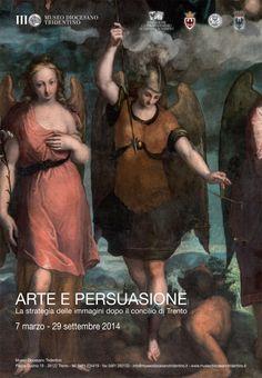 F. Brusasorci (e bottega?), Madonna con Gesù Bambino in gloria, San Gabriele arcangelo, San Michele arcangelo e San Raffaele arcangelo, 1573-1575. Arco, chiesa di Santa Maria Assunta (locandina della mostra).