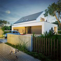 Outdoor Spa, Love Garden, Prefab Homes, Modern Exterior, Deco, Bungalow, House Plans, New Homes, 1