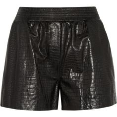uk availability 7c6ef 1baab Alexander Wang Type Of Pants, Leather Shorts, Rocker Chic, Color Negra, Net