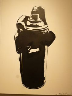 Art By Blek Le Rat THAT'S WHAT THE NAZIS ARE DOING RIGHT NOW; for them we are 'rats'