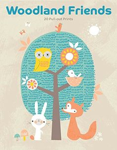 Woodland Friends: 20 Pull-out Prints by Marie Perkins http://www.amazon.com/dp/1856699609/ref=cm_sw_r_pi_dp_rHT0ub1V9ZJ0R