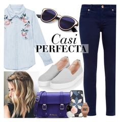 """""""Casi Perfecta"""" by fhn96 ❤ liked on Polyvore featuring beauty, Michael Kors, Ted Baker, Topshop, Dr. Martens, Rails, Casio and GUESS"""