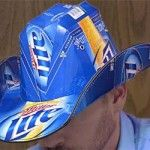Re-defining beer fashion. Fun, hilarious, and oh-so-good looking. Crafted from an 18-bottle case of Miller Lite beer. Officially licensed; one size fits all.