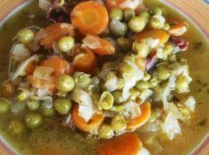 Guiso con verduras y arvejas - Dr Cormillot
