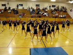 Cheerleading-Flip stunt at the end. Cheerleading-Flip stunt at the end. Cheer Tryouts, Cheer Coaches, Cheer Stunts, Cheer Dance Routines, Cheer Moves, Cheerleading Videos, Cheerleading Cheers, High School Cheer, College Cheer