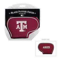 Team Golf Texas A and M Aggies Blade Putter Cover, Multicolor