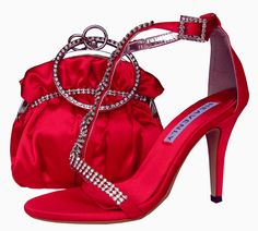 Bernice Red Evening Sandals. #redeveningsandals