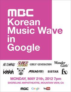 MBC + YouTube + Google = KPOP SUCCESS  http://snsdkorean.com/2012/05/09/korean-music-wave-in-google/
