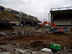 Demolition of Filbert Street - The Former Home of Leicester City F.C. - Connell Brothers LTD
