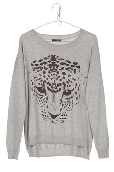 Bo-Star - Jersey ANIMAL gris