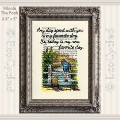 Winnie the Pooh Piglet & Christopher Robin Quote 8 Favorite