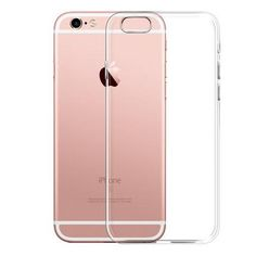db44517da47 Thin Soft TPU Gel Original Transparent Case For iPhone 6 6s 7 7Plus 6sPlus  Crystal Clear Silicon Cover Phone Cases