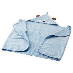BADET Toalha de banho de bebé c/ capuz - IKEA - 7.99
