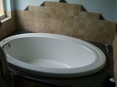 How to Clean a Yellowed Acrylic Tub - Baking soda, hydrogen peroxide and a bowl!