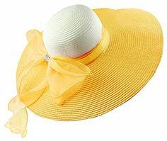 c23579643bb Kaisifei Bowknot Casual Straw Women Summer Hats Big Wide ... http