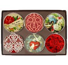 VINTAGE + CHOCOLATES = Rogue Confections Endear and Beloved Chocolate Disks  How to get it: http://www.rogueconfections.com/