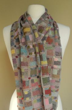 Contingences scarf, Sophie Digard - the colors!