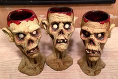 Zombie Shot glasses by thebigduluth.deviantart.com on @DeviantArt