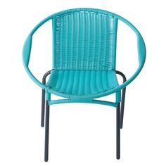 Turquoise summer chair