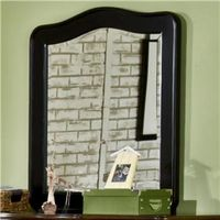 Weekends Youth Black Vertical Mirror