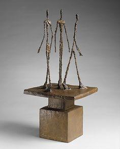 Alberto Giacometti - Three Men Walking II